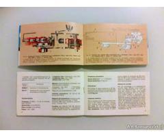 Piaggio Ciao Bravo Boxer 2 - Libretti Uso e Manutenzione - Trieste