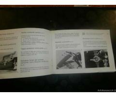 Libretto istruzioni moto GUZZI 125 - Milano