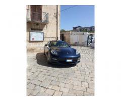 Porsche Panamera 4S blu - Campania