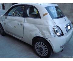 Fiat 500 lounge 1200 benzina sinistrata - Roma