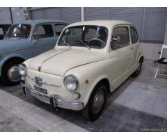 Fiat 600/D Fanalona auto d'epoca iscritta ASI - Roma