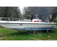 Barca open 5 metri