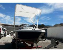 Barca open accessoriata + carrello omologato ELLEBI