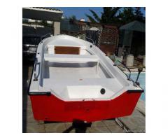 Barca vtr 4mt + Motore 15cv benzina + Carrello