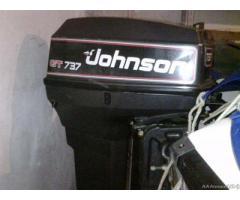 Rio 450 Top con Johnson GT737 e carrello Ellebi