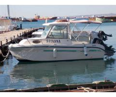 Saver 498 cabin fisher