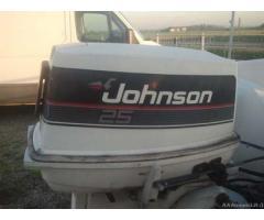 Gobbi con motore johnson