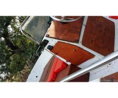 Barca a motore + carello