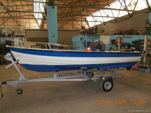 Barca a motore open sessa da pesca