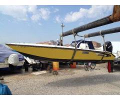 Barca Open BRUBE LAGUNA 550 con motore Mercury 40/60
