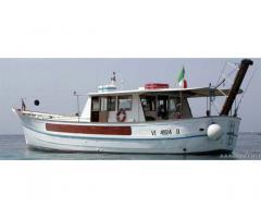 Barca a motore da diporto San Giuseppe VE 4924 D 18 metri