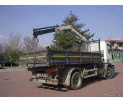 Iveco Eurocargo 120E18 1999 Euro5 ribaltabile e gru del 2006