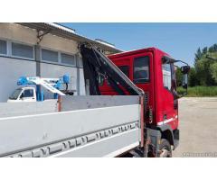 Autocarro IVECO 75E15 +gru Heila 4500 2S+Cass.Fiss