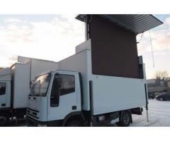 Maxi schermo LED mt4x3 su camion