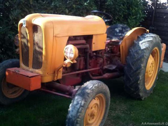 Fiat 411r completo di fresa