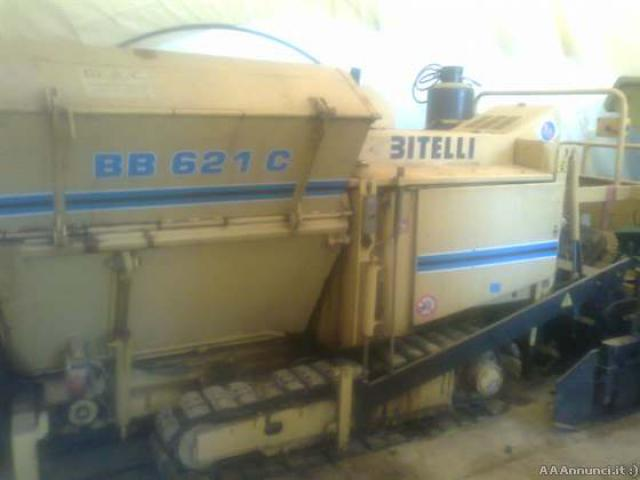 Finitrice bitelli bb621c