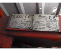 Ford Transit 1998 cassone fisso e gru Fassi F30