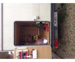 Camper Rimor con modifica garage