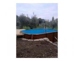 Villettina j campagna con piscina