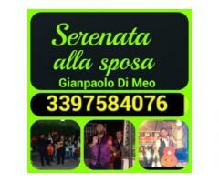 serenata alla sposa a Napoli,Caserta,Salerno