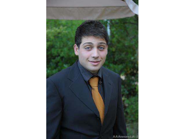 Piero 26 anni