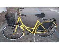 City bike donna da 26 con freni a bacchetta