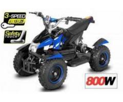 Mini quad Eco Dragon 800W 3 velocità elettrico