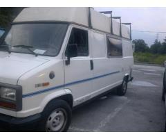 CAMPER ITALIA fiat ducato turbo diesel immatricolata 1992 colore bianco panna