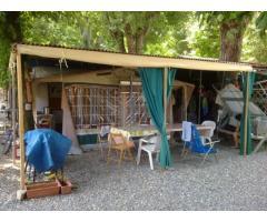 Vendo roulotte stanziale 5 metri 5 posti letto a Rivergaro