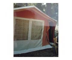Carrello tenda campeggio 4/6 persone