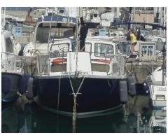 Tortuga 27 motorseil vela più motore 38hp