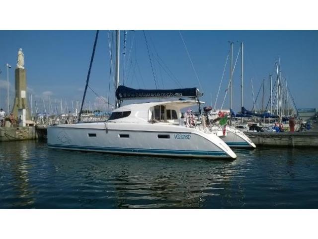 barca a vela ABERING & RASM Nautitech 40' anno 2004 lunghezza mt 12
