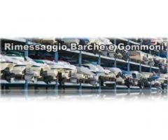 Rimessaggio caravan camper roulottes barche gommoni