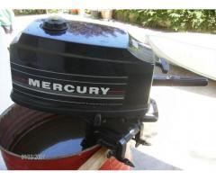 """Vendo barca"""" Mariposa"""" 4 mt e motore Mercury 4"""