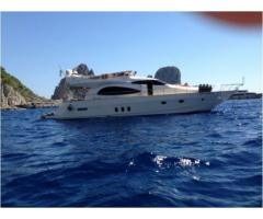 barca a motore CANTIERE NAVALE TIRRENO CAYMAN CYBER 62 FLY anno 2008 lunghezza mt 19