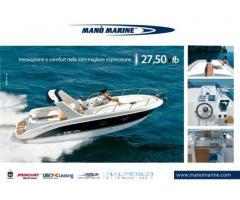 barca a motore MANO MARINE wa fb 2750 mano marine anno 2008 lunghezza mt 9