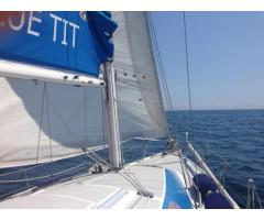 Barca a vela Comet 850 con vele nuove