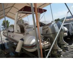 gommone Bwa Nautica bwa 850 2x4t ful PLATINUM anno 2007 lunghezza mt 9