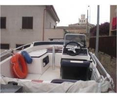 barca a motore RIO 450 cross anno 2005 lunghezza mt 5