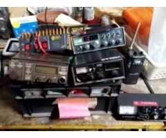 vendo VHF CB CANALI MARINI, LINEARE DA CASA E ALIMENTATORE BILANCIATO
