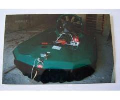 Hovercraft (scafo da competizione) ad Agnone Cilento (SA)