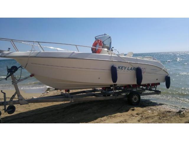 barca a motore SESSA MARINE open key largo 20 anno 2002 lunghezza mt 630