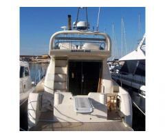 barca a motore INTERMARE 42 con fly anno 2002 lunghezza mt 13