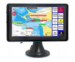"GPS navigatore nautico plotter cartografico display colori 7,0"""