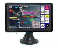"GPS plotter cartografico nautico display a colori 5,0"""