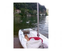 Barca vela con deriva mobile 4 m