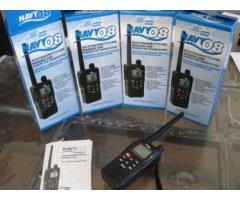 VHF Portatile Navy 08 batterie