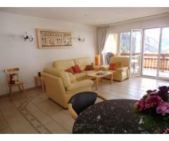 Casa EDELWEISS, Leukerbad. Appartamento di 3.5 locali con balcone