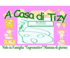 """A CASA DI TIZY""  NIDO IN FAMIGLIA - BABY SITTER"