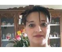 Signora rumena cerca lavoro